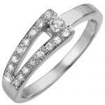 0.30 ctw Certified VS/SI Diamond Ring 18K White