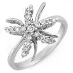 0.25 ctw Certified VS/SI Diamond Ring 18K White