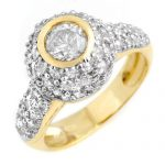 2.20 ctw Certified VS/SI Diamond Ring 14K Yellow